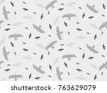 seamless background with a... | Shutterstock .eps vector #763629079