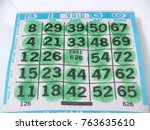 Small photo of Bingo Card Game