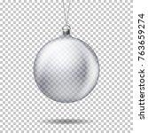 vector realistic transparent... | Shutterstock .eps vector #763659274