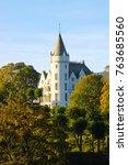 gamlehaugen palace  the bergen... | Shutterstock . vector #763685560