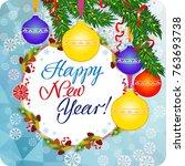 Winter Holiday Greeting Card...