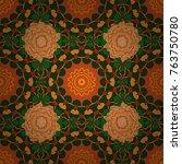 Kaleidoscope Geometric Style I...