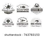 Set Of Vintage Seafood ...
