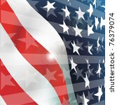 usa flag | Shutterstock .eps vector #76379074