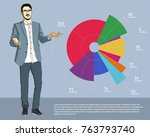 vector illustration of a... | Shutterstock .eps vector #763793740