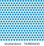 tileable modern cute recurring... | Shutterstock .eps vector #763804633