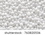 close up picture of styrofoam... | Shutterstock . vector #763820536