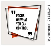 framed quote on geometric... | Shutterstock .eps vector #763851046