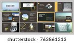 original presentation...   Shutterstock .eps vector #763861213