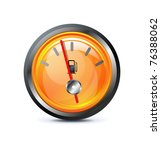 fuel icon on white background | Shutterstock .eps vector #76388062