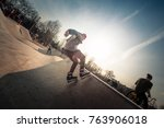 moscow  russia   april 6  2017  ...   Shutterstock . vector #763906018