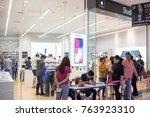 nakhonratchasrima thailand  nov ... | Shutterstock . vector #763923310