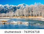 grand teton national park ... | Shutterstock . vector #763926718