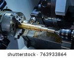 close up cnc milling drilling... | Shutterstock . vector #763933864