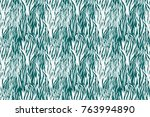 animal seamless pattern. zebra... | Shutterstock . vector #763994890