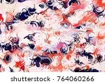 abstract art texture. colorful... | Shutterstock . vector #764060266
