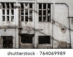 abandoned building in an area... | Shutterstock . vector #764069989
