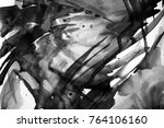 black and white abstract... | Shutterstock . vector #764106160
