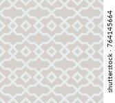 islamic geometrical pattern.... | Shutterstock . vector #764145664