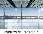 panoramic skyline and buildings ... | Shutterstock . vector #764171719