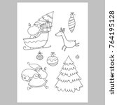 Christmas Coloring Page....