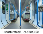 fast train. london  england.... | Shutterstock . vector #764205610