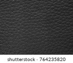 black leather texture... | Shutterstock . vector #764235820