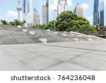empty city square road and...   Shutterstock . vector #764236048