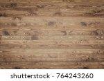 wood texture background surface ...   Shutterstock . vector #764243260