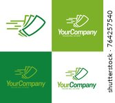 fast cash logo icon and logo  ... | Shutterstock .eps vector #764257540