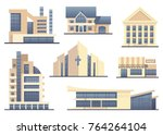 detailed images of various... | Shutterstock .eps vector #764264104