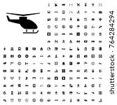 helicopter icon illustration...   Shutterstock .eps vector #764284294