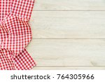 Kitchen Cloth On Wood Table...