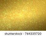 christmas digital glitter...   Shutterstock . vector #764335720