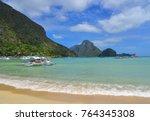 coron  philippines   apr 4 ...   Shutterstock . vector #764345308