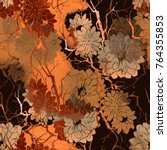 Imprints Abstract Flowers And...