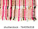 color of fabric warping. | Shutterstock . vector #764356318