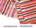 color of fabric warping.   Shutterstock . vector #764356324