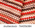 color of fabric warping.   Shutterstock . vector #764356384