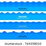freshness natural theme  a... | Shutterstock .eps vector #764358010