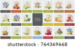 big collection of labels or... | Shutterstock .eps vector #764369668
