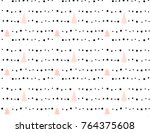 hand drawn vector abstract... | Shutterstock .eps vector #764375608