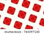 mosaic pattern kaleidoscope | Shutterstock . vector #764397130