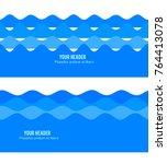 freshness natural theme  fresh... | Shutterstock .eps vector #764413078