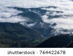 beautiful scenery of the sea of ... | Shutterstock . vector #764422678