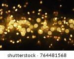 blurred bokeh light background  ... | Shutterstock . vector #764481568