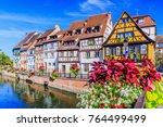 colmar  alsace  france. petite...   Shutterstock . vector #764499499