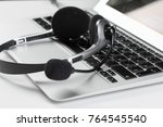 Call Center Support Concept....