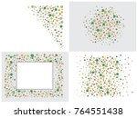 abstract background on a theme... | Shutterstock .eps vector #764551438