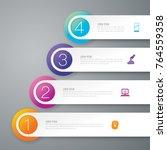 infographics design vector and...   Shutterstock .eps vector #764559358